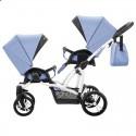 Універсальна коляска для двійні Bebetto 42 New 02