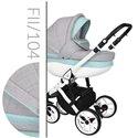 Детская коляска 2 в 1 Baby Merc Faster Style 2 104