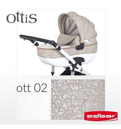 Коляска 2 в 1 Adbor Ottis 02