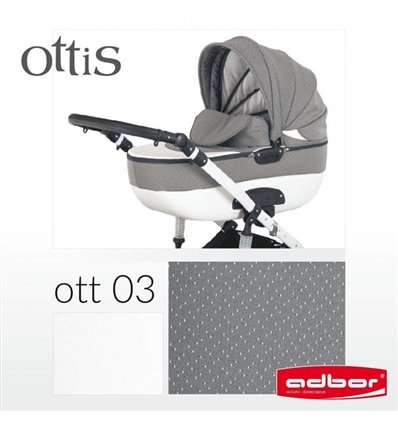 Коляска 2 в 1 Adbor Ottis 03