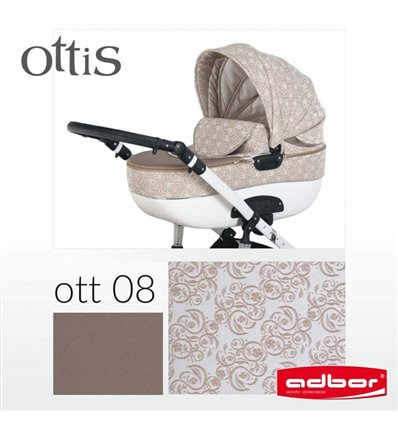 Коляска 2 в 1 Adbor Ottis 08