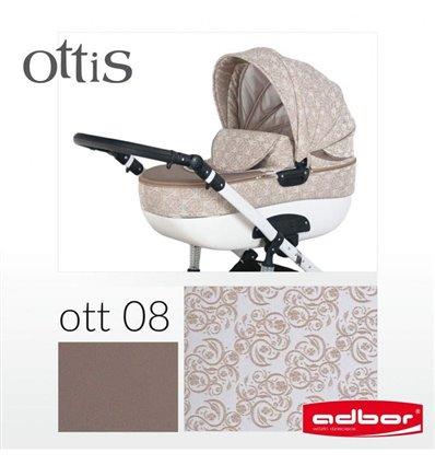 Коляска 3 в 1 Adbor Ottis 08