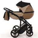 Детская коляска 2 в 1 Tako Junama Geographic 01 коричневая
