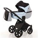 Детская коляска 2 в 1 Tako Junama Geographic 03 серо-голубая