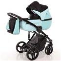 Детская коляска 2 в 1 Tako Junama Geographic 04 голубая