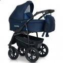 Детская коляска 3 в 1 Verdi Sonic Plus 10 темно синяя