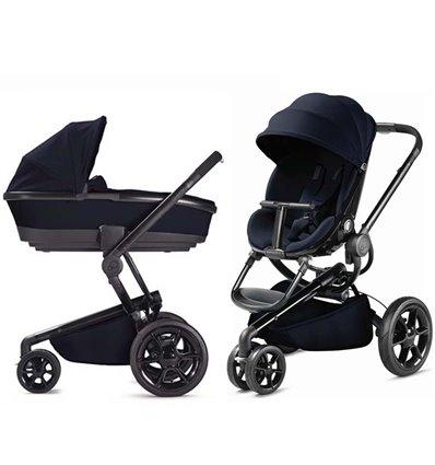 Детская коляска 2 в 1 Quinny Moodd Midnight Blue