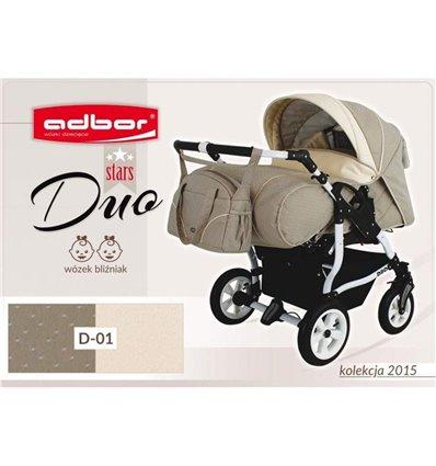 Дитяча коляска для двійні Adbor Duo Stars 01