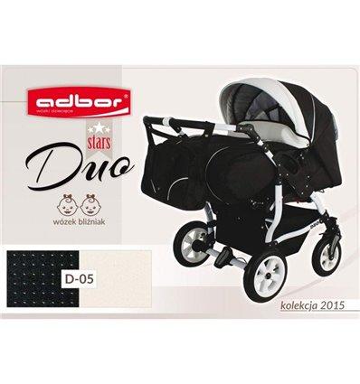 Дитяча коляска для двійні Adbor Duo Stars 05