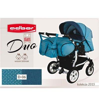Дитяча коляска для двійні Adbor Duo Stars 06