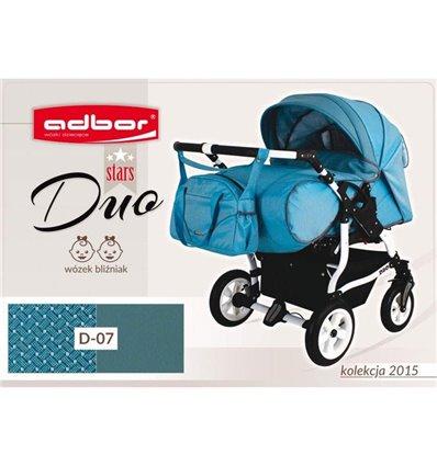 Дитяча коляска для двійні Adbor Duo Stars 07
