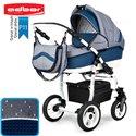 Детская коляска 3 в 1 Adbor Marsel PerFor Sport P11
