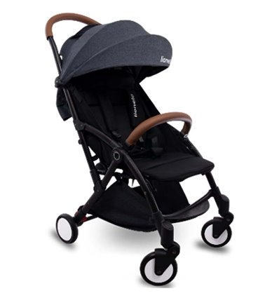 Дитяча прогулянкова коляска Lionelo Julie чорна