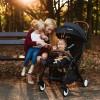 Детская прогулочная коляска Lionelo Julie черная