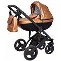 Детская коляска 2 в 1 Verdi Mirage Eco Premium Gold