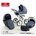 Детская коляска 3 в 1 Adbor Marsel PerFor Classic P08