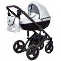 Детская коляска 2 в 1 Verdi Mirage Eco Premium Silver