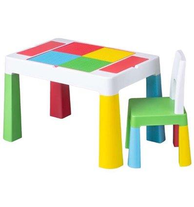 Детский столик и стульчик Tega Multifun разноцветный