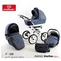 Детская коляска 3 в 1 Adbor Marsel PerFor Classic P12