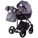 Детская коляска 2 в 1 Adamex Chantal С201 графит