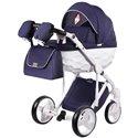 Детская коляска 2 в 1 Adamex Chantal С204 синяя