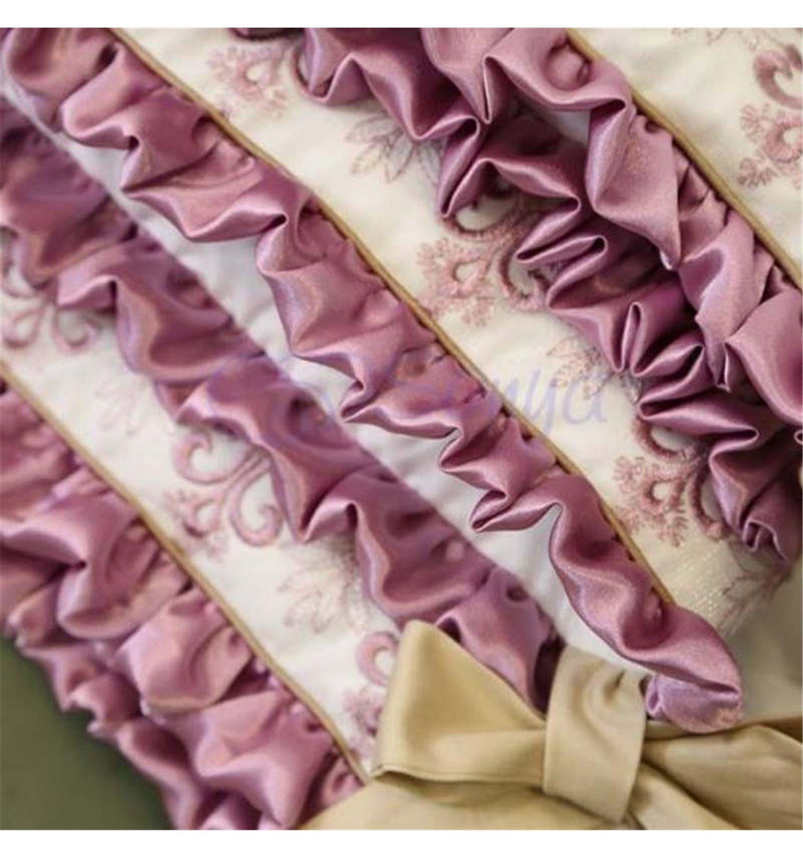 ... Дитячий постільний комплект Маленька Соня Ricci 7 елементів рожевий ... ab7cb53519d5c