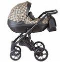 Детская коляска 2 в 1 Roan Bass Soft Gold & Black Ornaments