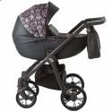 Детская коляска 2 в 1 Roan Esso Brown Sequins