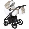 Дитяча коляска 2 в 1 Roan Esso Gold & White Ornaments