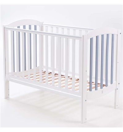 Детская кроватка Верес Соня ЛД10 Эконом бело-серая