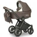 Детская коляска 3 в 1 Verdi Sonic Soft 03 коричневая