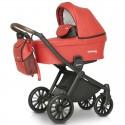 Детская коляска 3 в 1 Verdi Sonic Soft 04 красная