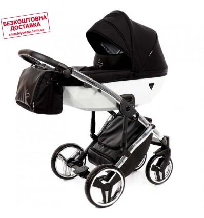 Детская коляска 2 в 1 Tako Junama Diamond Limited White