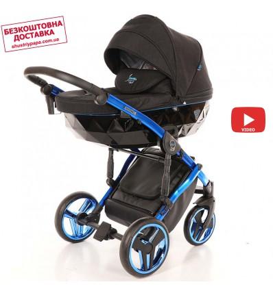 Детская коляска 2 в 1 Tako Junama Diamond Individual 02 синяя рама