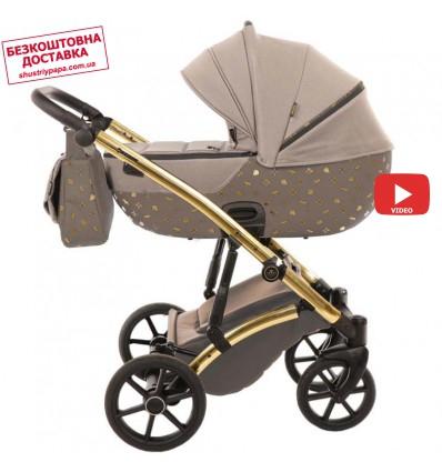 Детская коляска 2 в 1 Tako Laret Imperial 02 коричневая