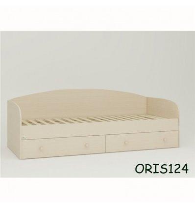 Подростковая кроватка Oris Nika дуб молочный