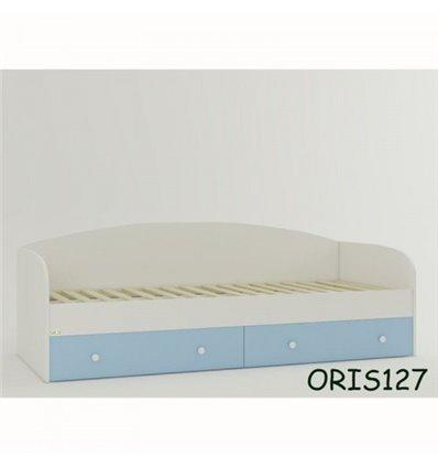 Подростковая кроватка Oris Nika бело-голубой