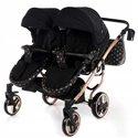 Универсальная коляска для двойни Tako Laret Imperial Duo 04 черная