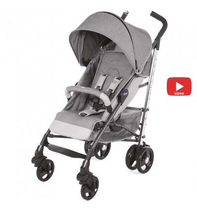 Детская прогулочная коляска Chicco Lite Way Top Titanium