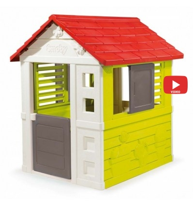 Детский домик Smoby Nature 810712