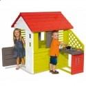 Детский домик с кухней Smoby 810713
