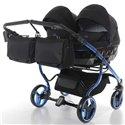 Универсальная коляска для двойни Tako Junama Individual Duo 02