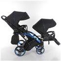 Универсальная коляска для двойни Tako Junama Individual Duo Slim 02
