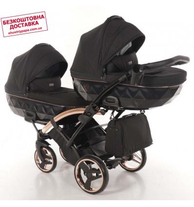 Универсальная коляска для двойни Tako Junama Individual Duo Slim 03