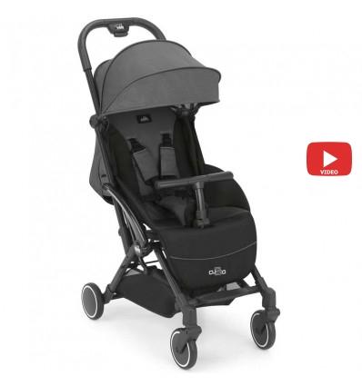 Детская прогулочная коляска CAM Cubo Evo 125 серый с черным