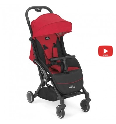 Детская прогулочная коляска CAM Cubo Evo 126 красная