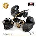 Детская коляска 3 в 1 Adbor Ottis Gold 01