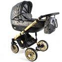 Детская коляска 3 в 1 Adbor Ottis Gold 06