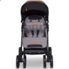 Детская прогулочная коляска для двойни EasyGo Fusion Duo 2019 Grey Fox