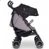 Дитяча прогулянкова коляска для двійні EasyGo Duo Comfort 2019 Grey Fox